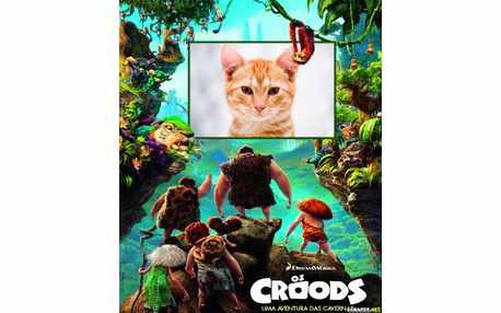 Moldura - Os Croods