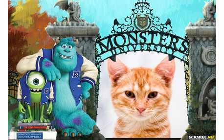 Moldura - Monstros Sa 2