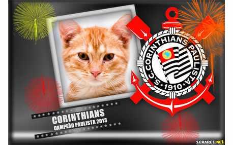 Moldura - Corinthians Foi Campeao