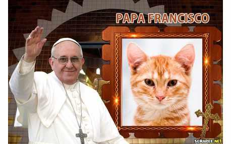 Moldura - Papa Francisco