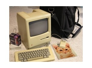 Photomontage Old Macintosh