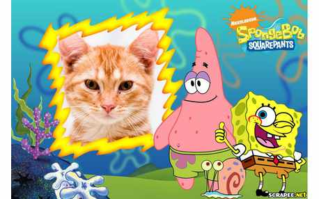 Moldura - Sponge Bob Squarepants