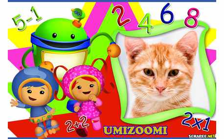 Moldura - Umizoomi