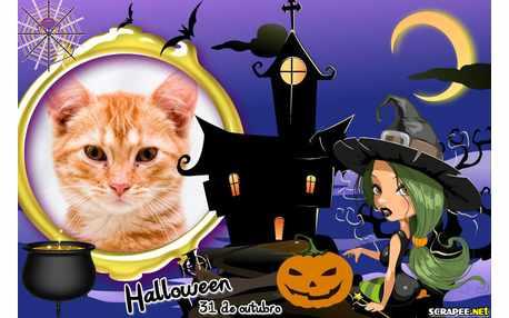 Moldura - Halloween 31 De Novembro