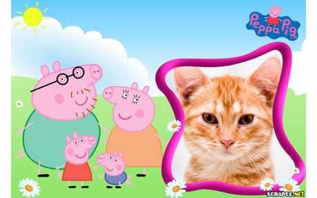 Moldura6281 Peppa Pig