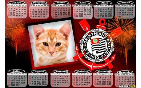 Moldura - Calendario Do Corinthians