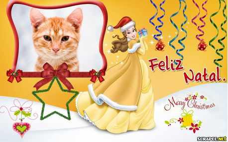Moldura - Natal Das Princesas