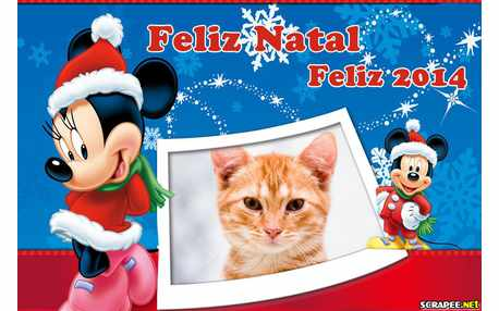Moldura - Feliz Natal E Feliz 2014