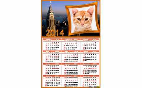Moldura - Calendario Paris