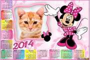 6373-Calendario-Minnie-Mouse