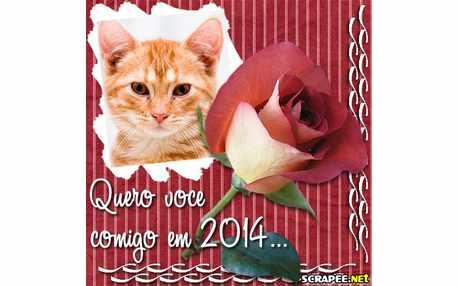 Moldura - Quero Voce Comigo Em 2014