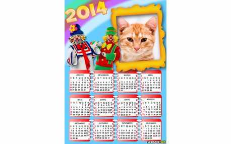 Moldura6384 Calendario Patati Patata 2014
