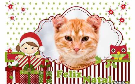 Moldura - Boneco Noel De Natal