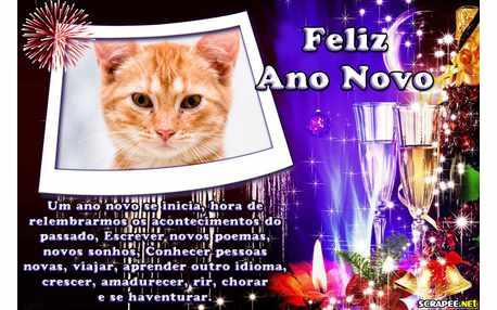 Moldura - Desejos Para O Ano Novo