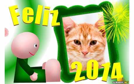 Moldura - Feliz 2014