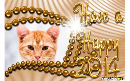 Moldura - Have A Happy 2014