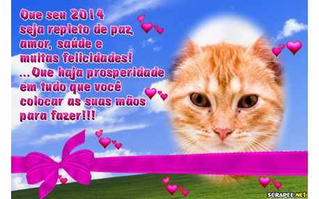 Moldura - 2014 De Paz E Amor