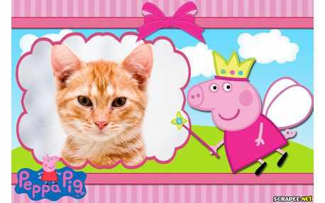 Moldura - Peppa Pig