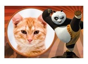 Moldura - Kung Fu Panda