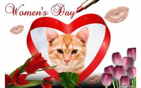 Moldura - Womens Day   Dia Da Mulher