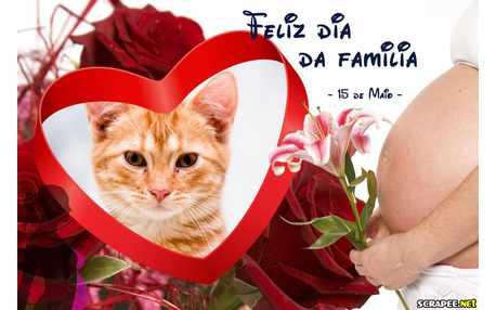 Moldura - 15 De Maio   Dia Da Familia