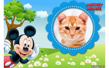 Moldura - Moldura Do Mickey