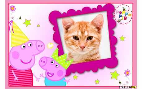 Moldura - Peppa Pig Princesa
