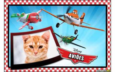 Moldura - Filme Avioes Da Disney