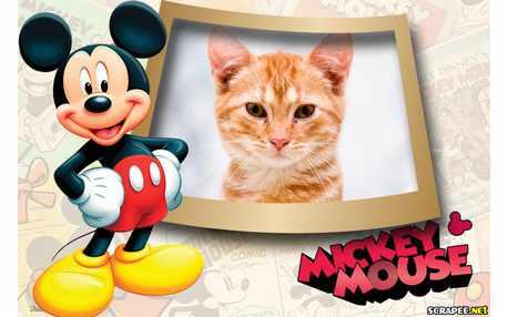 Moldura - Mickey Disney