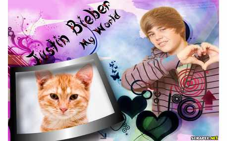 6544-Moldura-Justin-Bieber