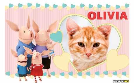 Moldura - Olivia A Porquinha