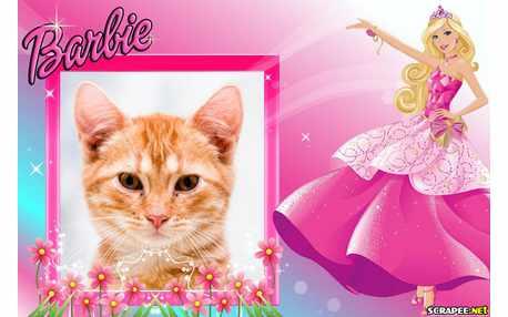 Moldura - Barbie Do Novo Desenho