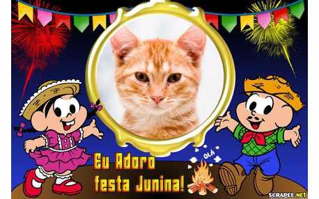 Moldura - Adoro Festa Junina