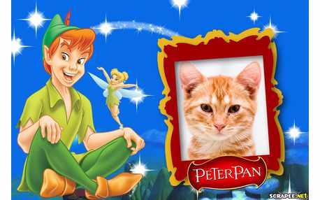 Moldura - Peter Pan