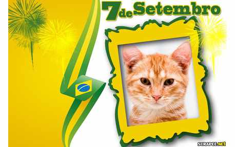 Moldura - 07 De Setembro   Independencia