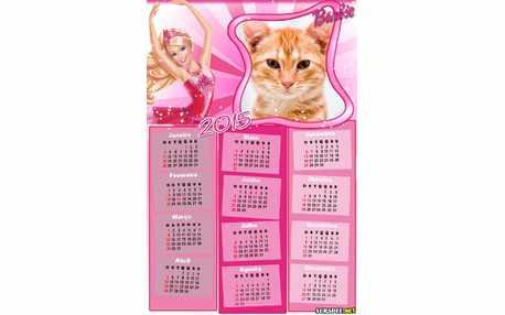 6749-Calendario-2015-da-Barbie