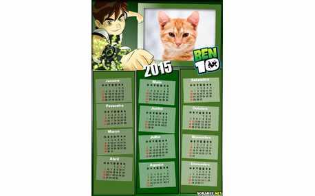 Moldura - Calendario 2015 Bem10