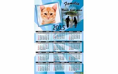 Moldura - Calendario Da Familia