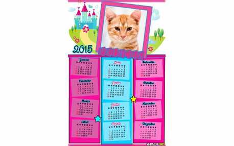 Moldura - Calendario Castelo Das Princesas