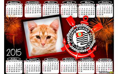 Moldura - Calendario Corinthians 2015