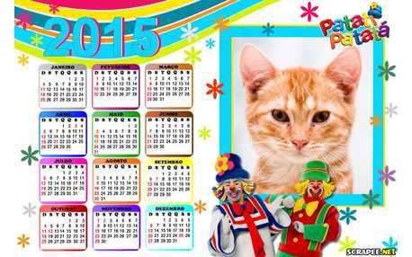 Moldura - Calendario 2015 Patati Patata
