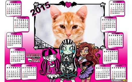 Moldura - Turma Da Monster High