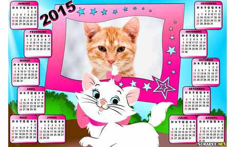 Moldura - Calendario Marie