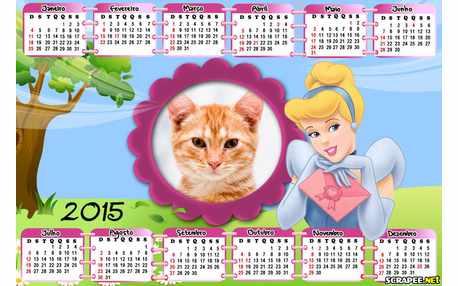 Moldura - Calendario Da Cinderela