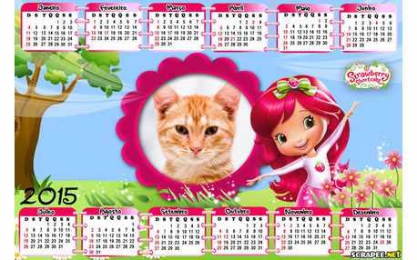 Moldura - Calendario Nova Moranguinho