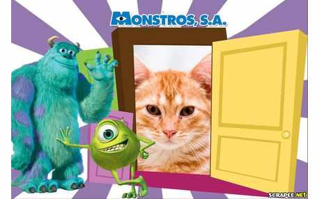 Moldura - Monstros S A
