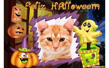 Moldura - Feliz Halloween