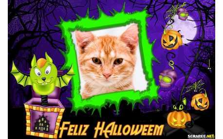 Moldura - Halloween 31 De Outubro