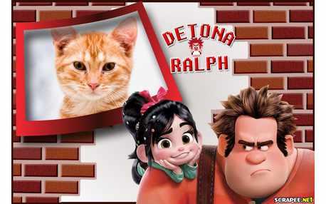 Moldura - Detona Ralph