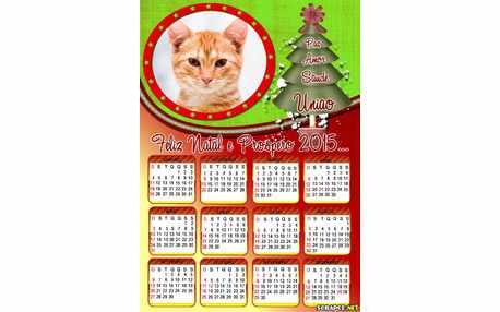 Moldura - Calendario De Natal